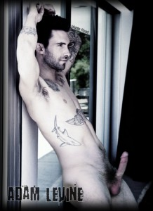Adam Levine and his Hard Dick!