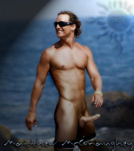 Matthew McConaughey showing his penis off!