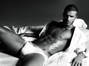 David Beckham sexy hard body!