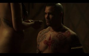 Geno Segers Gets Naked on Banshee