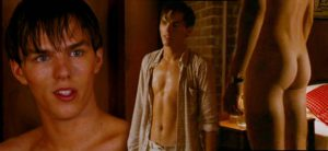 Naked Actor Nicholas Hoult