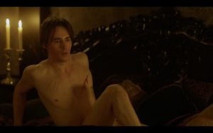 Reeve Carney Strips Naked