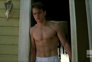 Matt Damon Shirtless on The Rainmaker